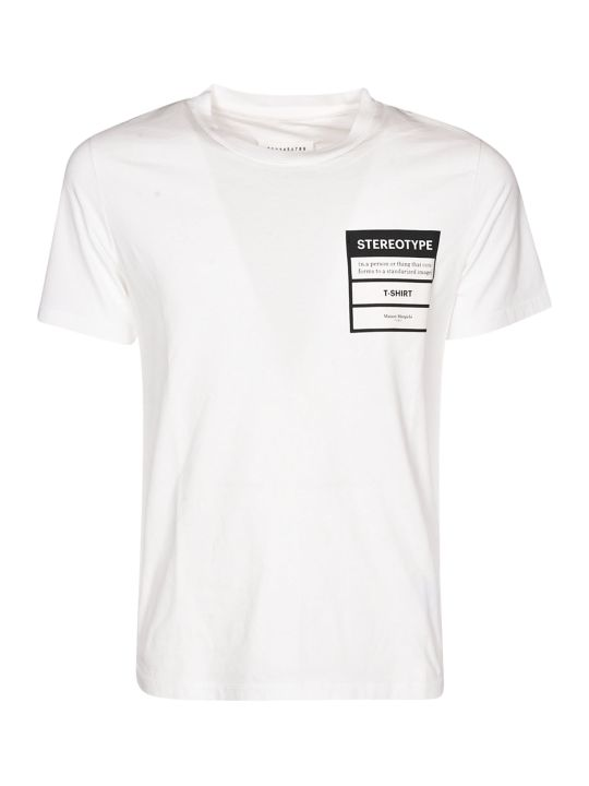 Maison Margiela Stereotype Patched T-shirt