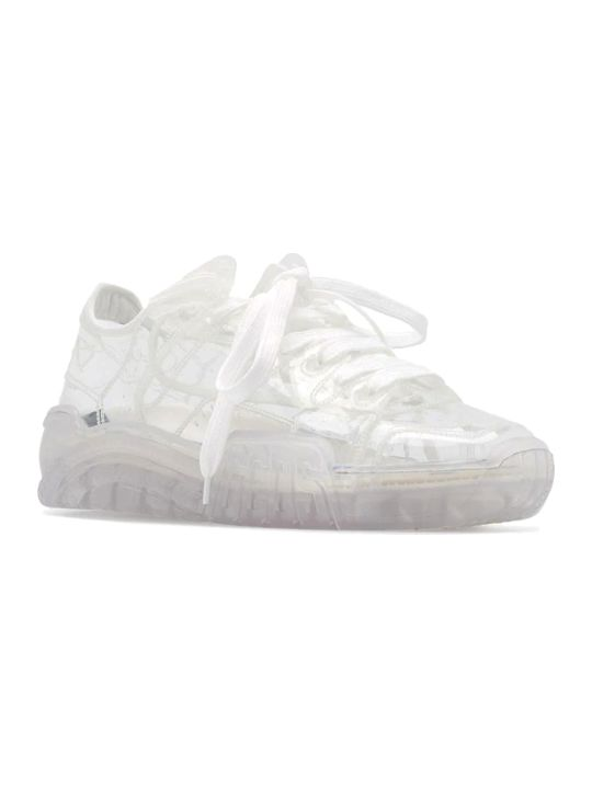 GCDS Transparent Skate Sneakers