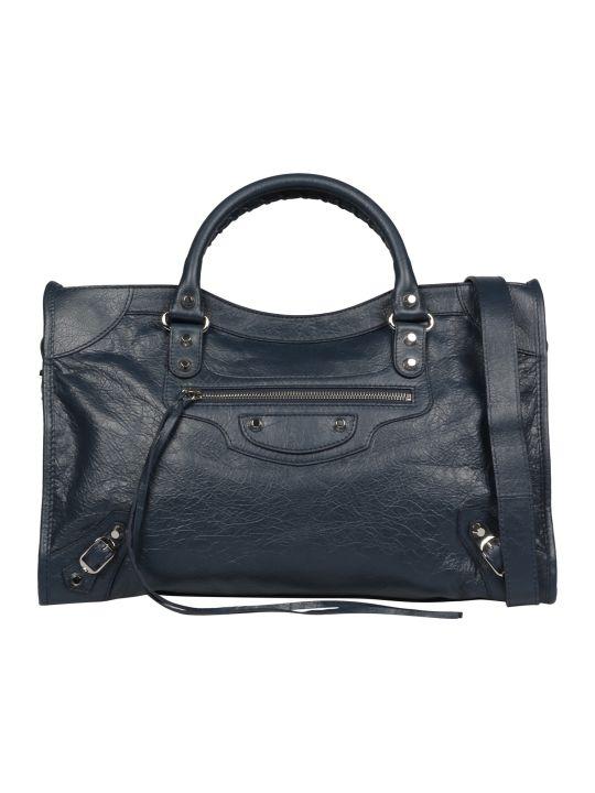 Balenciaga Classic Leather Shoulder Bag