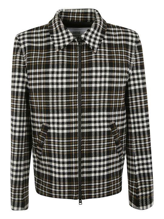 Ami Alexandre Mattiussi Patterned Zipped Jacket