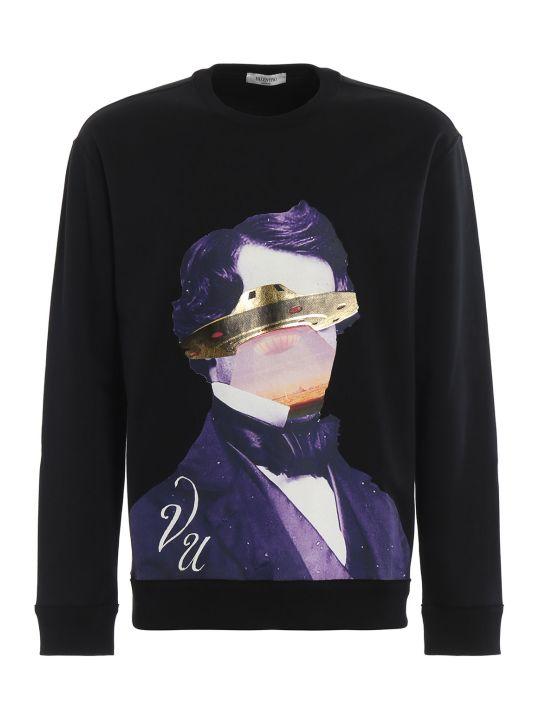 Valentino Undercoverx Face Ufo Sweatshirt