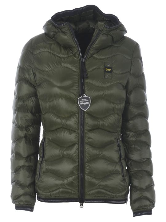 Blauer Zipped Down Jacket