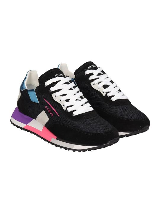 GHOUD Rush Sneakers In Black Tech/synthetic