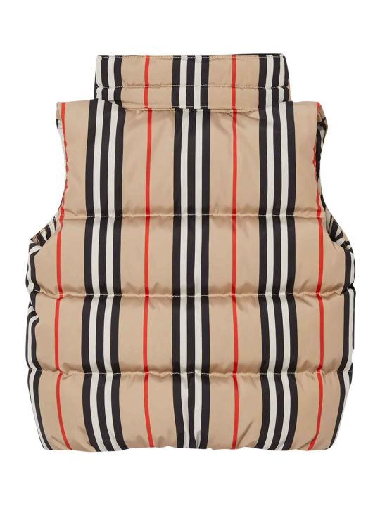 Burberry Check Vest With Hood