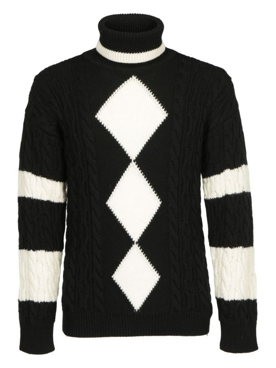 Saint Laurent Turtleneck Knitwear
