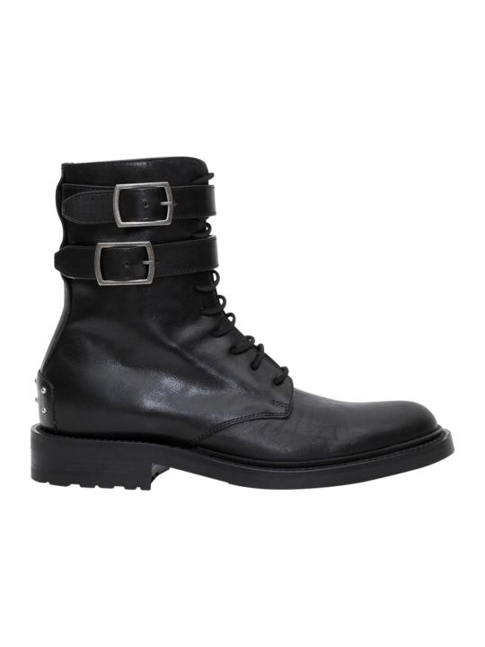 Saint Laurent Scarponcino Army 20 Fibbie