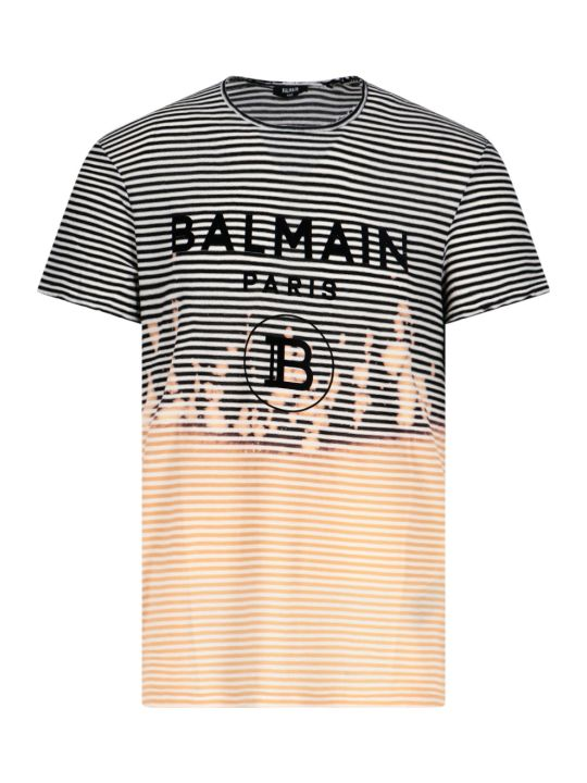 Balmain Striped T-shirt