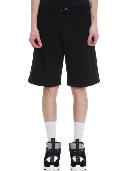 Ben Taverniti Unravel Project Basket Black Cotton Shorts