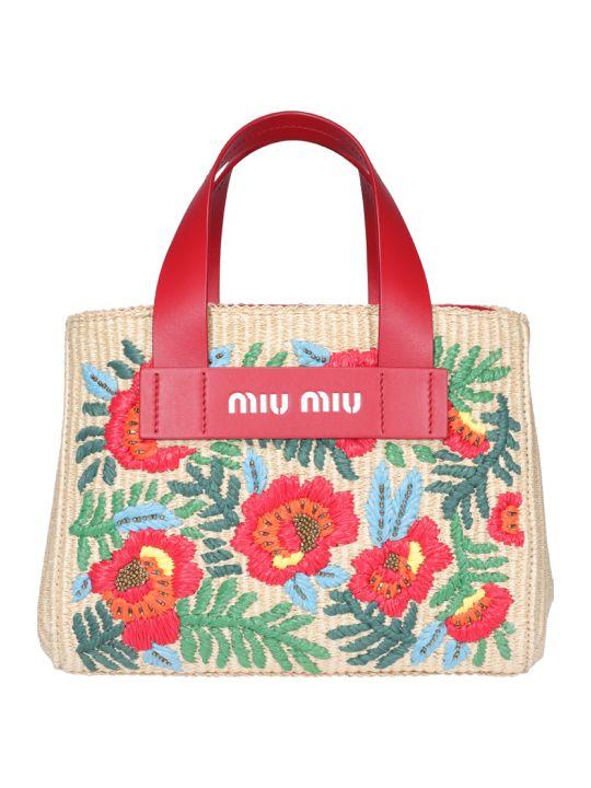 Miu Miu Logo Hand Bag
