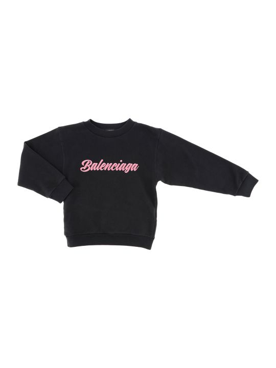 Balenciaga Crewneck Sweater Brushed Molleton Opulence