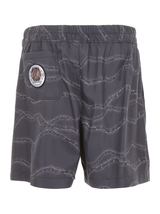 M1992 Printed Swim Shorts