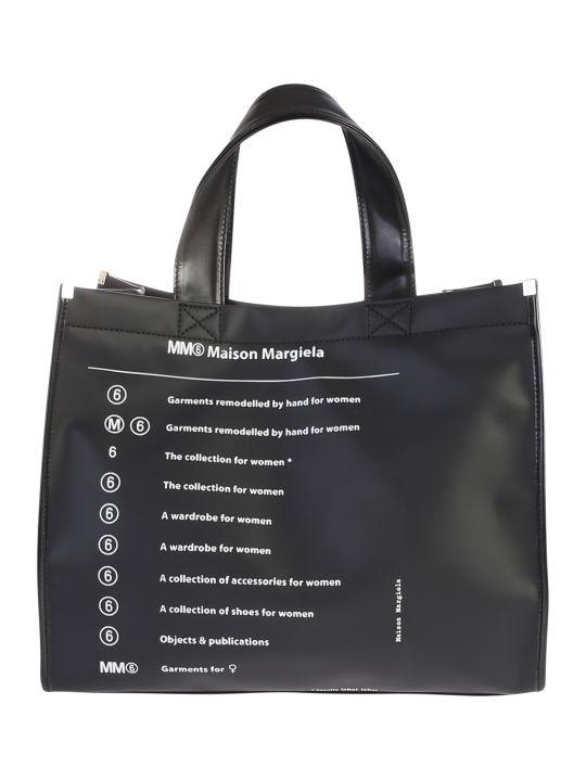 MM6 Maison Margiela Printed Shopper Bag