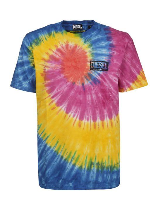 Diesel X Fedez Tie-dye T-shirt