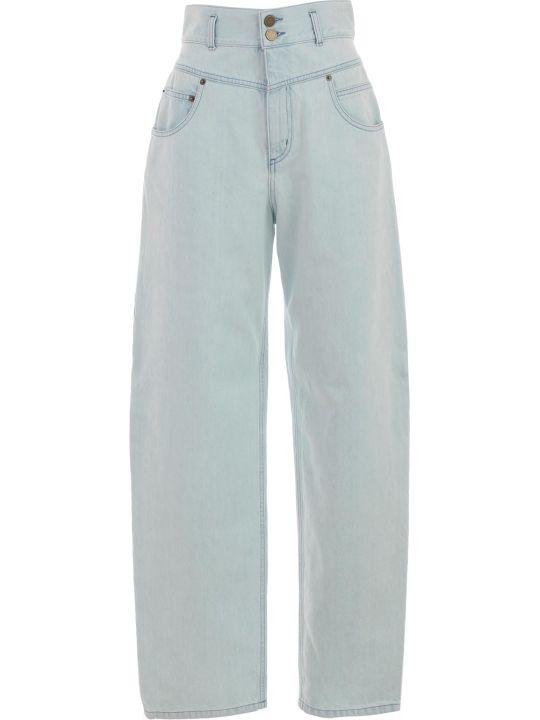 Alberta Ferretti Cropped Jeans