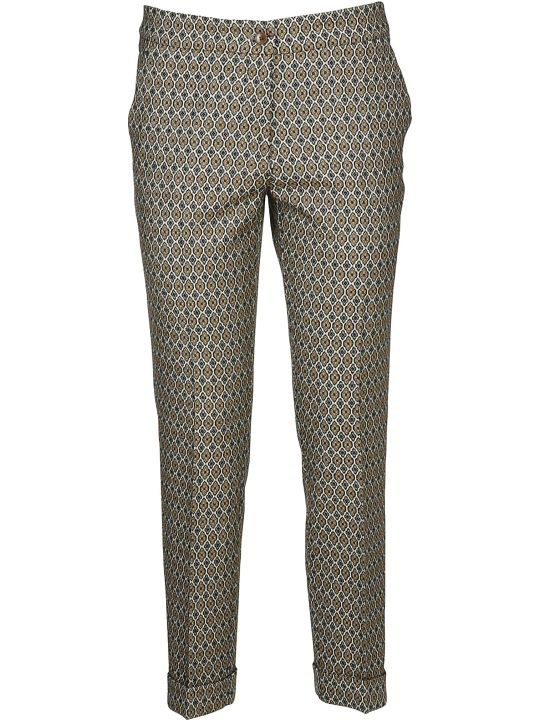 Etro Cropped Straight Trousers