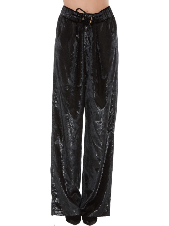 Balmain Shiny Effect Trousers