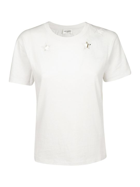 Saint Laurent Star Cut-out T-shirt