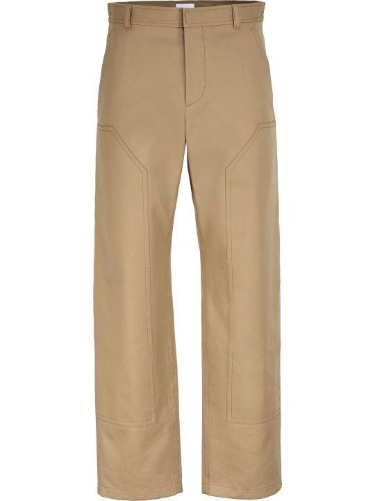 Burberry Cotton-twill Bush-trousers