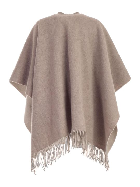 Snobby Sheep Cape W/pockets Bicolour