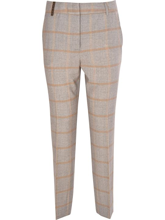 Peserico Checked Trousers