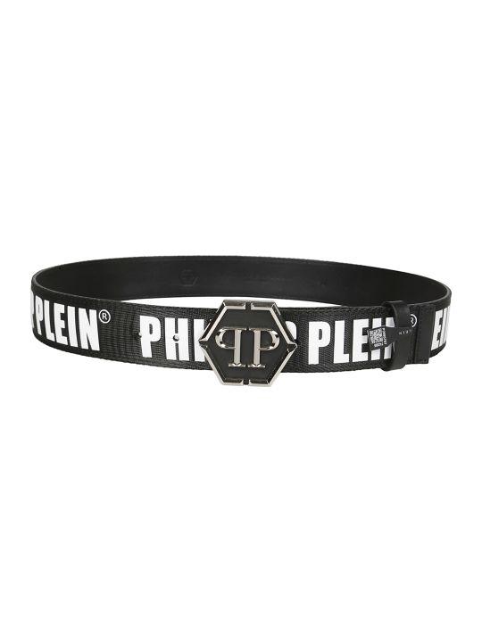 Philipp Plein Logo Belt
