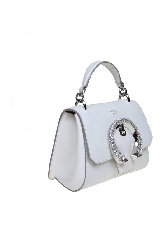 Jimmy Choo Madeline Handle Bag Handle / S Leather Milk Color
