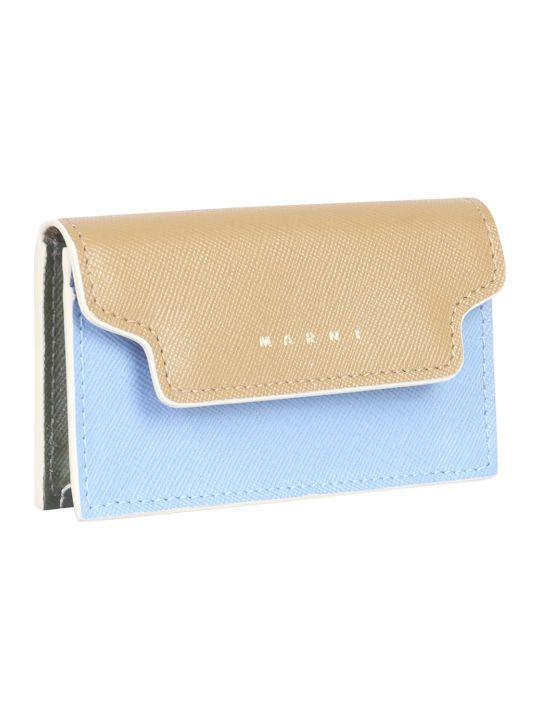 Marni Saffiano Leather Card Holder