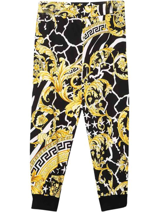 Young Versace Cotton Pants