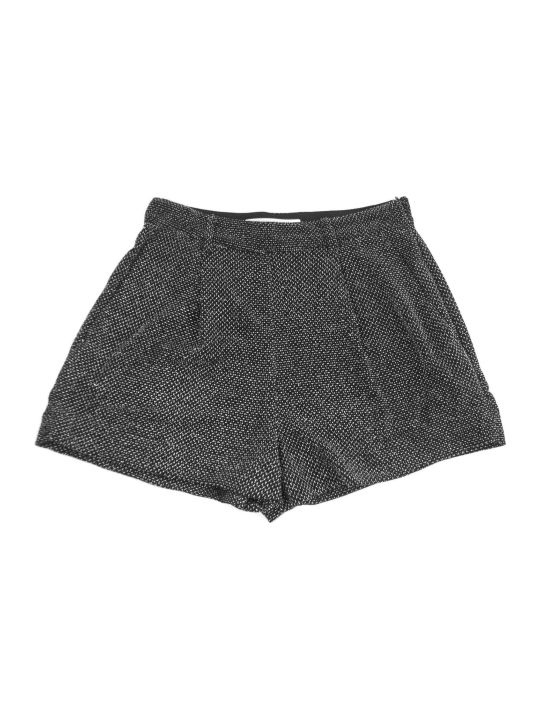 Philosophy di Lorenzo Serafini Black Fabric Shorts