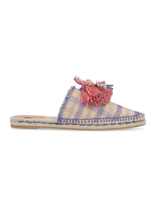 Castañer Rafaela Multicolor Fabric Slippers