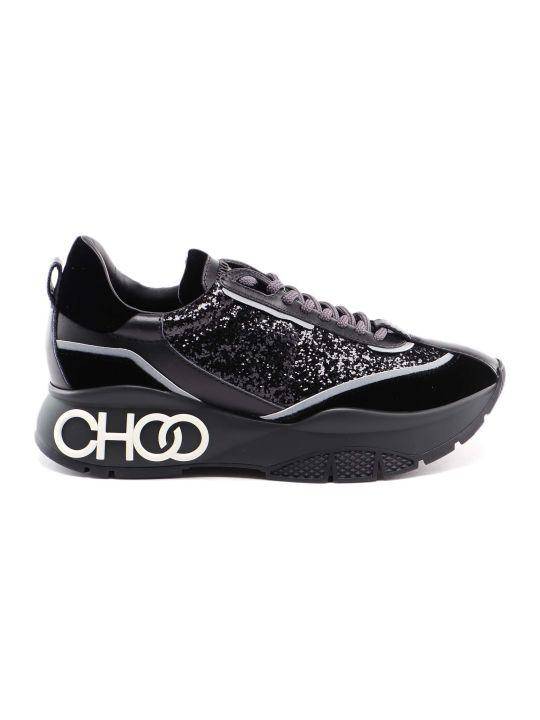 Jimmy Choo Velvet Galactic Sneaker