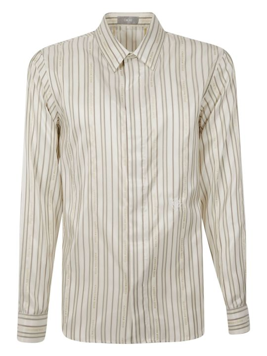 Dior Homme Striped Shirt