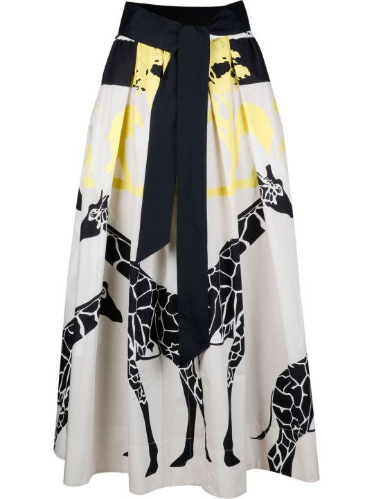 Sara Roka Print Skirt