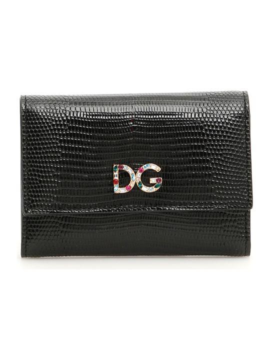 Dolce & Gabbana Crystal Dg Wallet