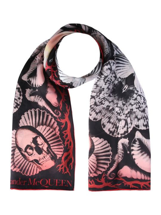 Alexander McQueen Dream Shell Foulard