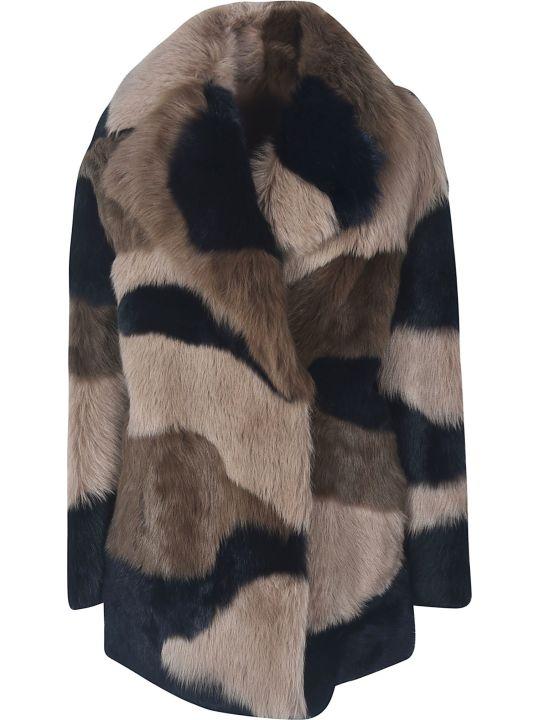 Blancha Camouflage Coat