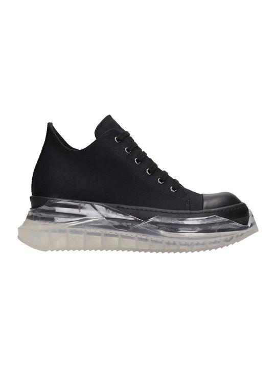 DRKSHDW Abstract Sneake Sneakers In Black Tech/synthetic