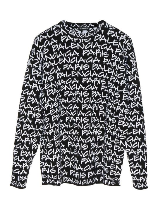Balenciaga 'paris' Sweater