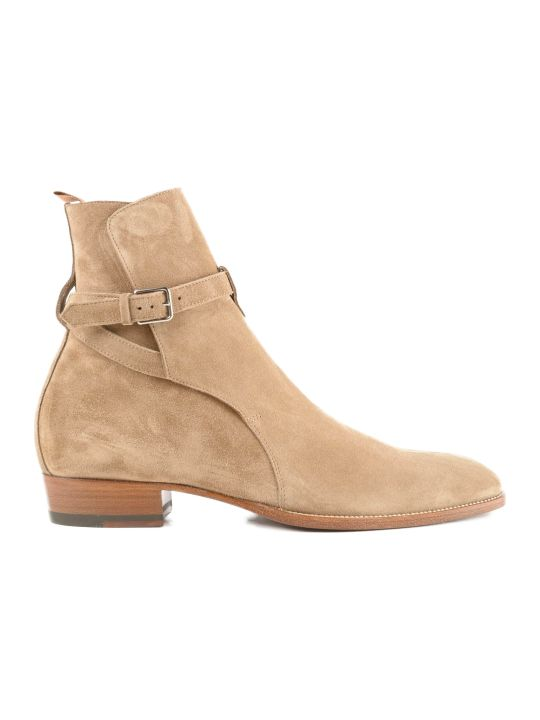 Saint Laurent Wyatt 30 Jodhpur Ankle Boots