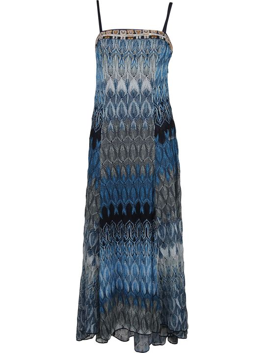Missoni Patterned Evening Dress