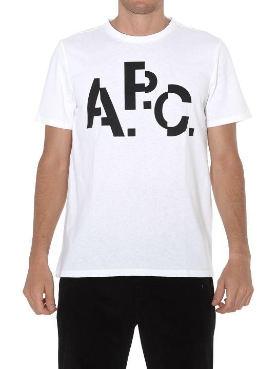 A.P.C. Logo Tshirt