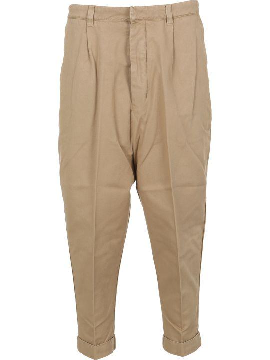 Ami Alexandre Mattiussi Ami Oversized Carrot Trousers