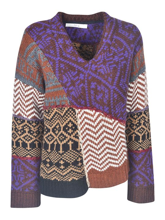 Tela Jacquard Sweater