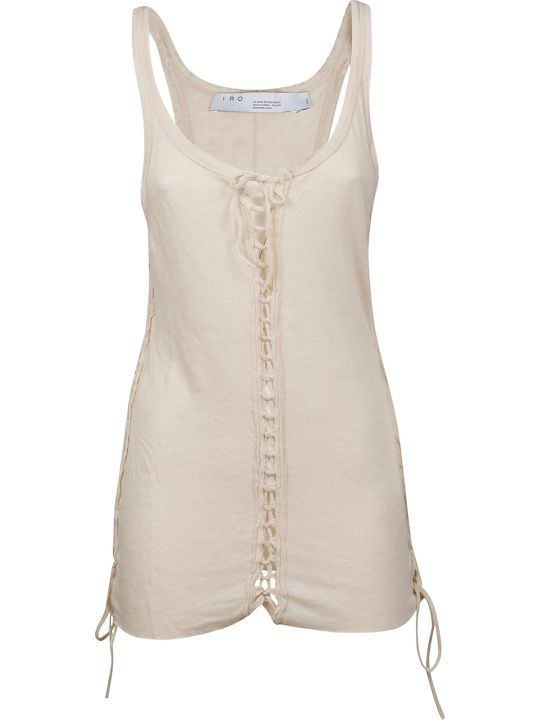 IRO Drawstring Detailed Tank Top