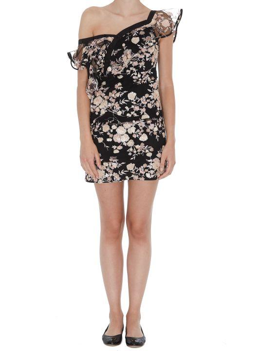 self-portrait Mini One Shoulder Dress