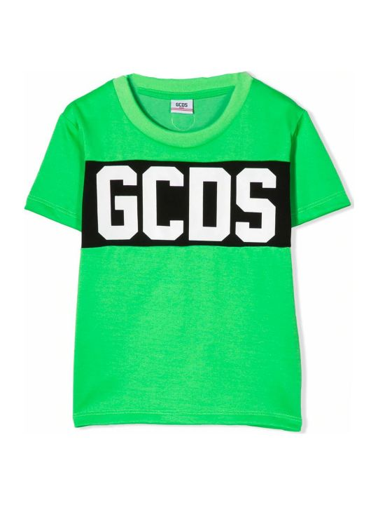 GCDS Green Cotton T-shirt