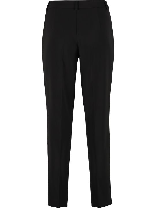 Boutique Moschino High-waist Crêpe Trousers