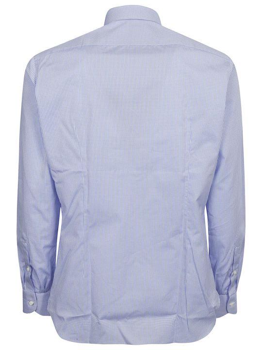 Luigi Borrelli Checked Print Shirt