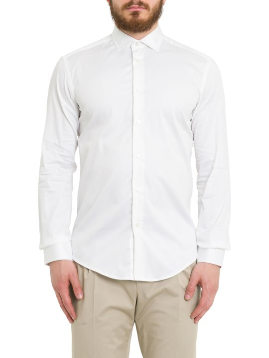 Brian Dales Concealed Button Fastening Shirt