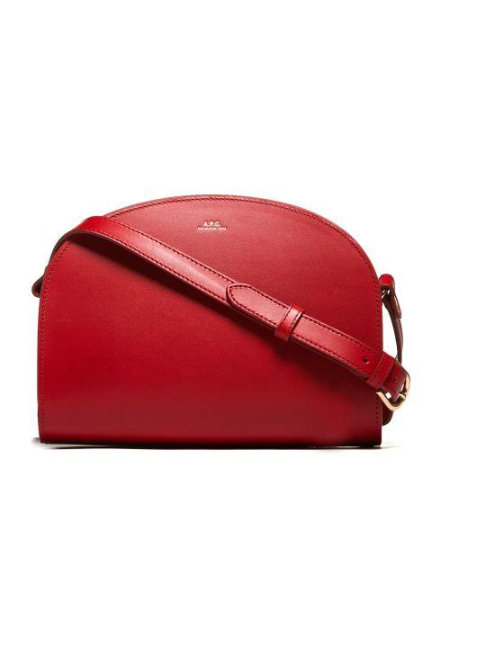 A.P.C. Apc Crescent Shoulder Bag